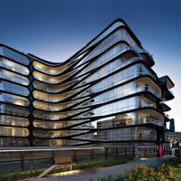 If Architecture is Woman, Zaha Hadid has just designed the Sophia Loren of buildings...
